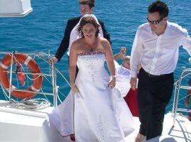 Low Isles Wedding - Sailaway