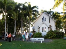 St Mary's chapel on the beach, Port Douglas