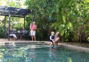 Poolside at Nautilus Apartments Port Douglas