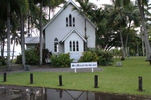 St Mary's by the Sea Port Douglas - perfect wedding location